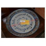 Earthenware Art Pottery Charger