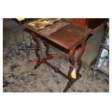 Antique Rosewood Wash Stand
