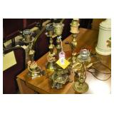 5) Brass Accent Lamps