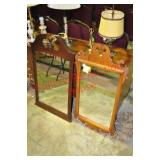 2) Chippendale Mirrors