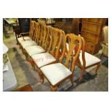 12) Thomasville Chippendale Dining Chairs x $