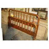 Antique Full Size Spindle Bed.