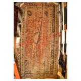Signed Isfahn Rug