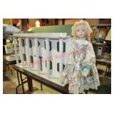 Handmade Wooden Doll House and Accessories Plus