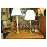 Virginia Crafters Stifle Candlestick Lamps