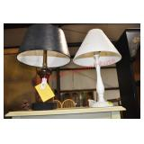 2 Candlestick Lamps