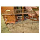 Metal Rod Console Table