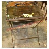 Metal Rod Folding Occassional Table
