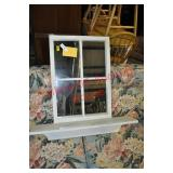 Cottage Style Accent Mirror