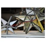 Mirrored Star Ball Candle Holder Plus