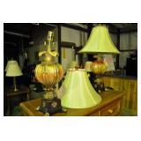 Pair Decorative Accent Table Lamps
