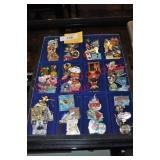 Disney & Related Collectible Pins x $