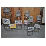 S. Cannabis & Other Apothecary Jars