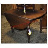 Victorian Walnut Kitchen Table