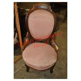 Victorian Rococo Parlor Chair