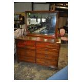 Thomasville Cherry Dresser with Mirror