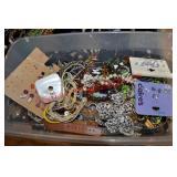 Box Of Mixed Fashion Jewelry