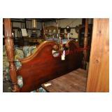 Fullsize Mahogany Rice Bed