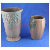 Matte Glaze Unmarked McCoy Vases