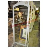 Painted Ethan Allen Cheval Mirror
