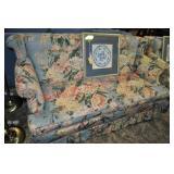 Custom Upholstered Love Seat