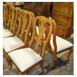8) Thomasville Chippendale Dining Chairs