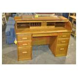 Wood Revival Desk Co. Roll top Desk