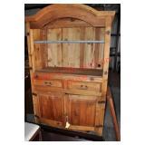 Rustic Pine Cabinet