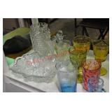 Collectible Glass Tumblers & Goblets
