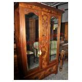English Victorian Armoire