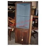 Primitive Corner Cabinet