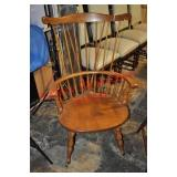 Windsor Rocker, Small Wood Chair