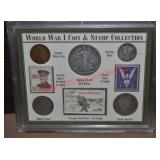 WWI Coin & Stamp Collection