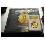 2009 Ultra High Relief Double Eagle $20 Gold Coin