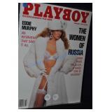 Playboy Magazine February 1990