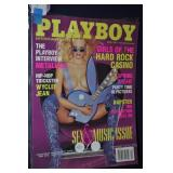 Playboy Magazine April 2001