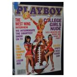 Playboy Magazine October 2001