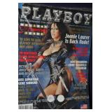 Playboy Magazine January 2002