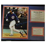 Sammy Sosa Framed Commemorative
