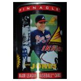 Pinnacle Chipper Jones Baseball Cards In A Can