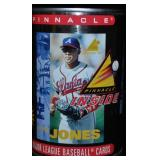 Pinnacle Andruw Jones Baseball Cards In A Can