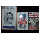 Collection of 3) Mickey Mantle Books