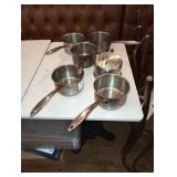 THERMALLOY INDUCTION READY SS SAUCE POTS 2 QT