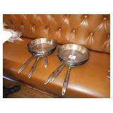 """THERMALLOY 11"""" SS FRY PANS"""