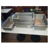 LOT OF 18 SS PANS