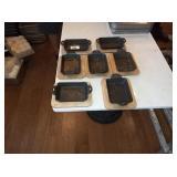 LODGE CAST IRON PANS