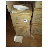 """LOT OF 48 COUPE PLATES 10"""" DEEP"""