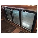 AVANTCO 6 FT REFRIGERATED BACKBAR SELF CONTAINED