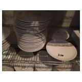 """LOT OF 52 PLATES 10-1/2"""""""