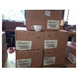 LOT OF 108 WORLD CUPS WITH SAUCERS